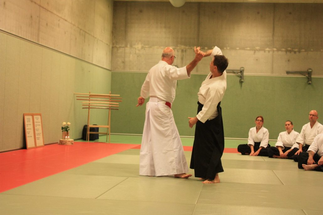 Seminar Ki-Aikido Amsterdam sensei Hughes 2016