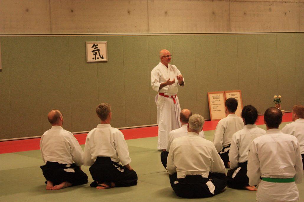 Seminnar Ki-Aikido Federation Netherlands sensei Hughes