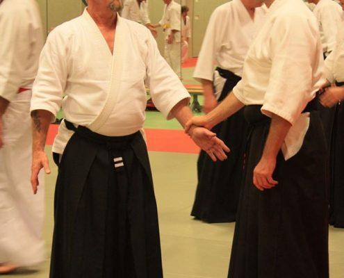 Seminar Ki-Aikido Amsterdam 2016 sensei Hughes